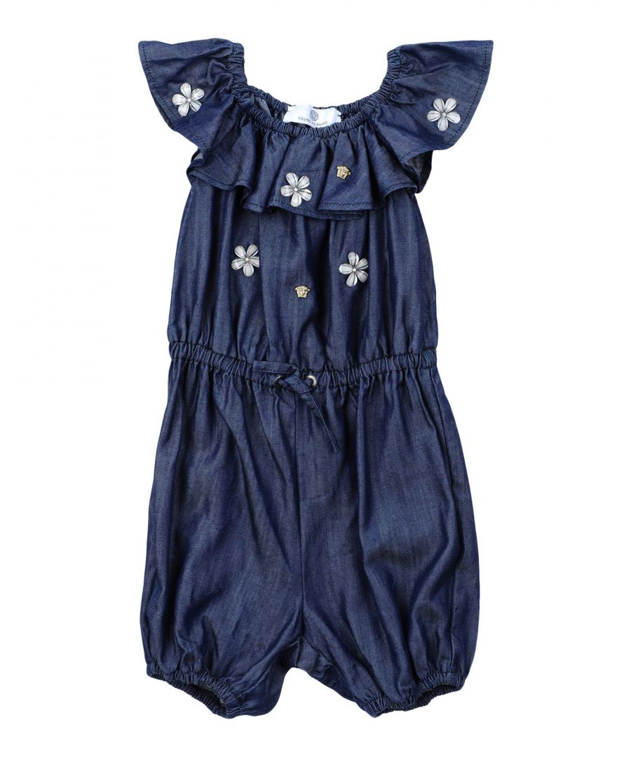 Image for BODYSUITS & SETS Versace Young Blue Girl Cotton