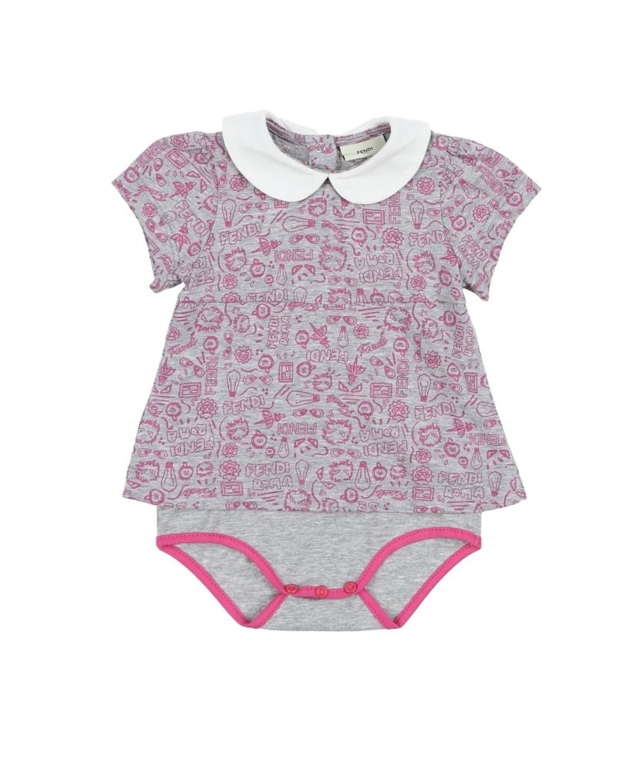 Image for BODYSUITS & SETS Fendi Grey Woman Cotton