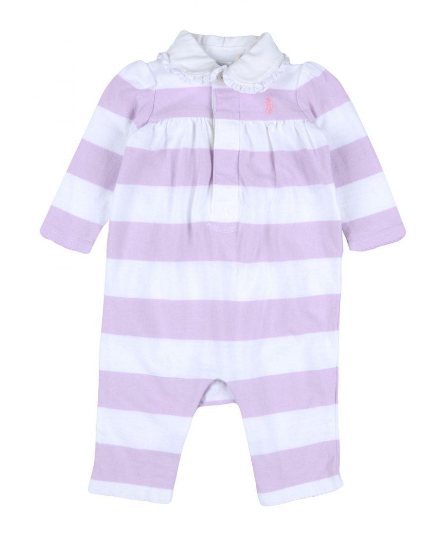Image for BODYSUITS & SETS Ralph Lauren Lilac Girl Cotton