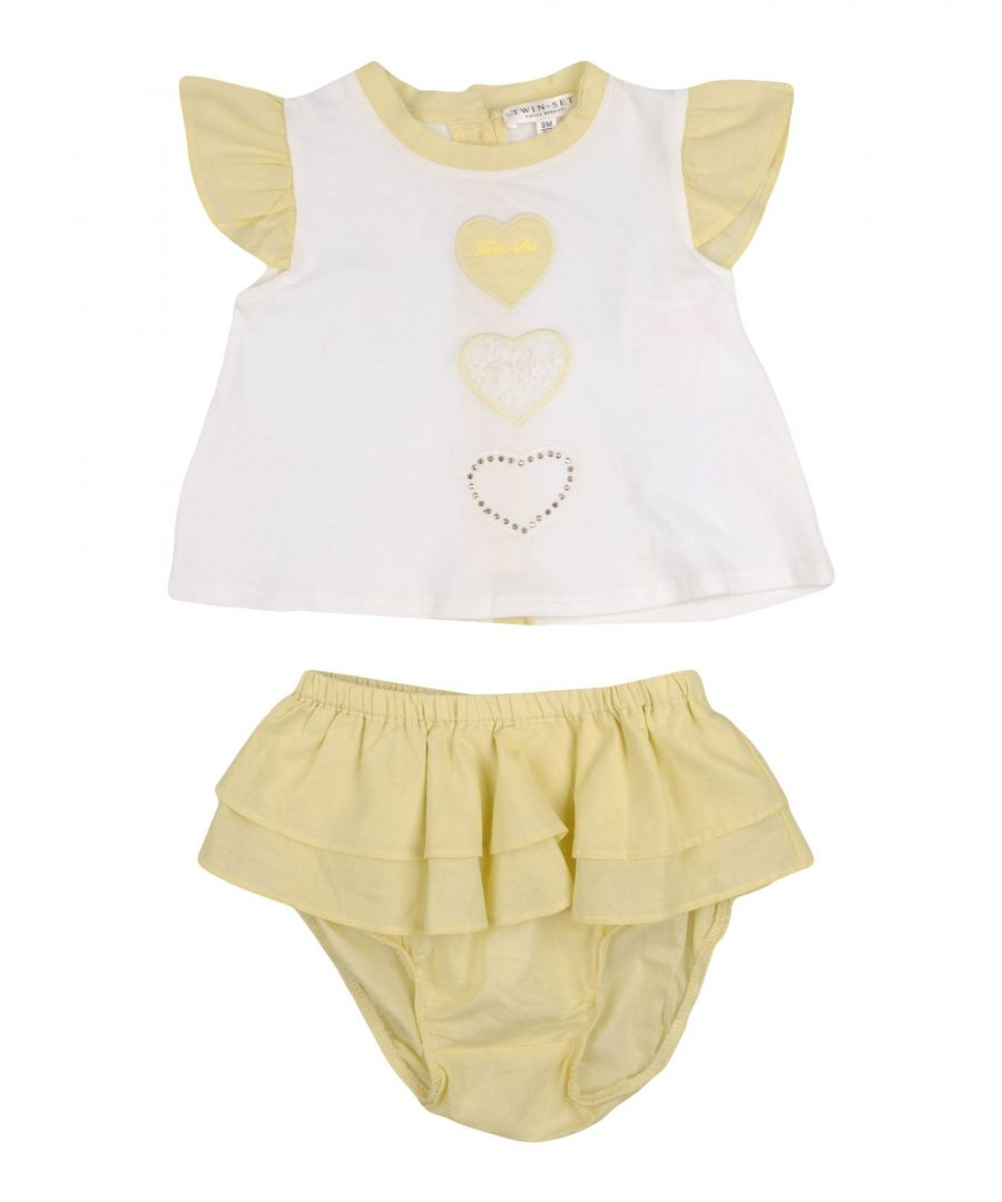 Image for BODYSUITS & SETS Girl Twinset Light yellow Cotton