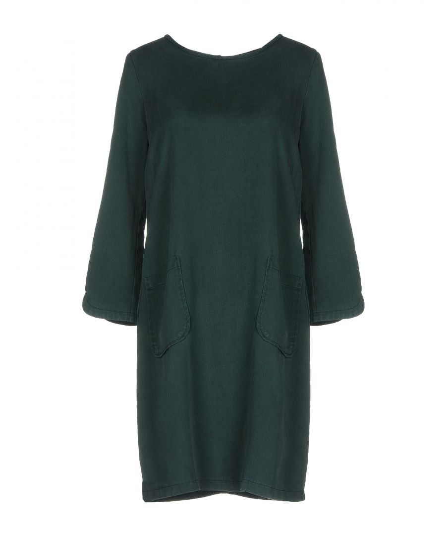 Image for Kaos Jeans Dark Green Long Sleeve Dress