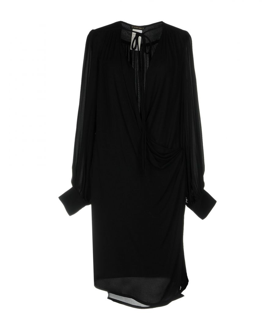 Image for DRESSES Plein Sud Black Woman Silk