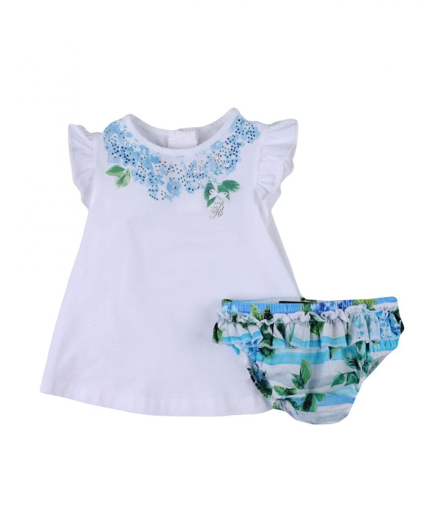 Image for BODYSUITS & SETS Miss Blumarine White Girl Cotton