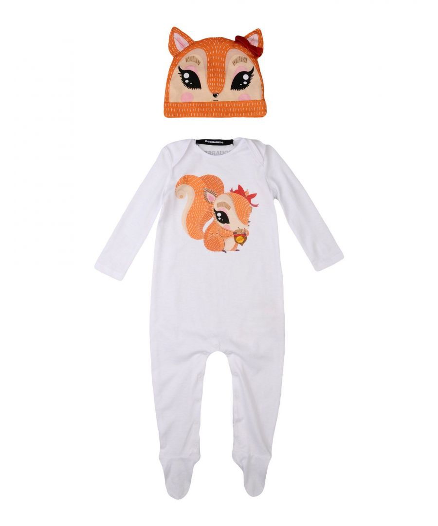 Image for Dsquared2 White Cotton Onesie