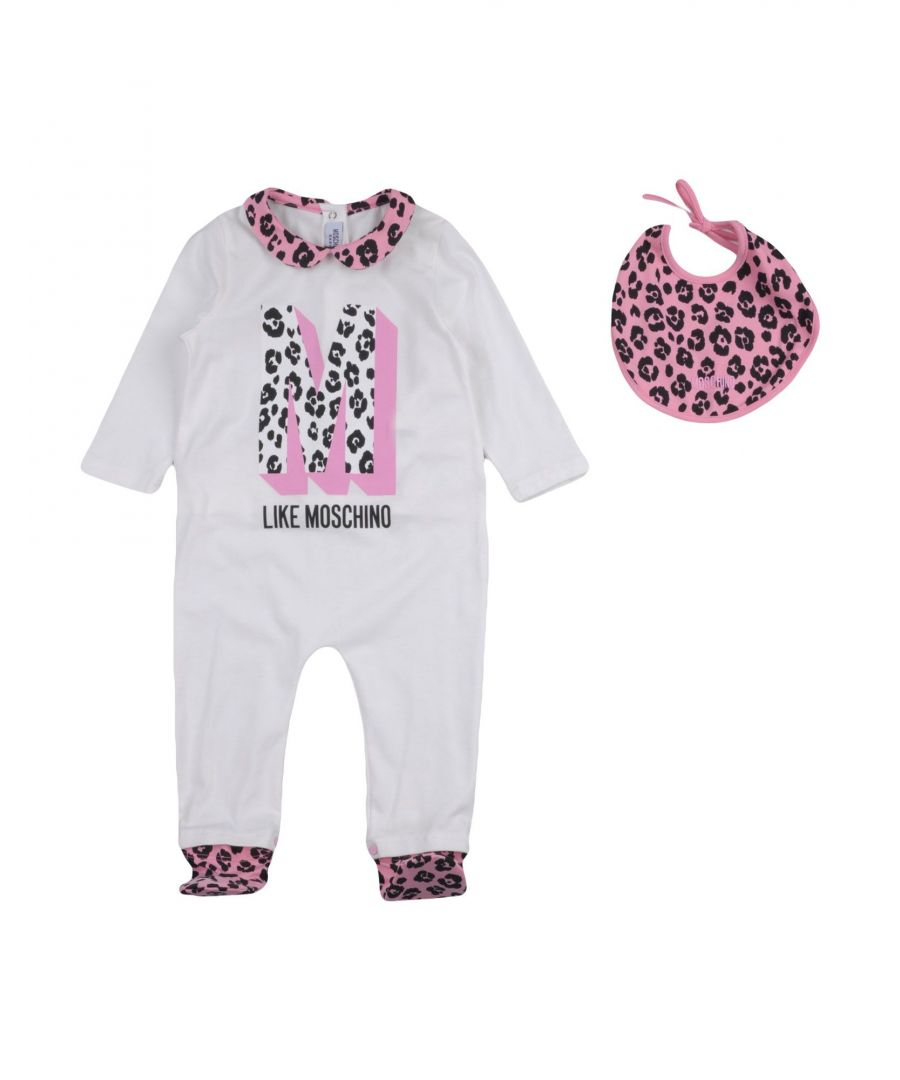 Image for BODYSUITS & SETS Moschino White Woman Cotton