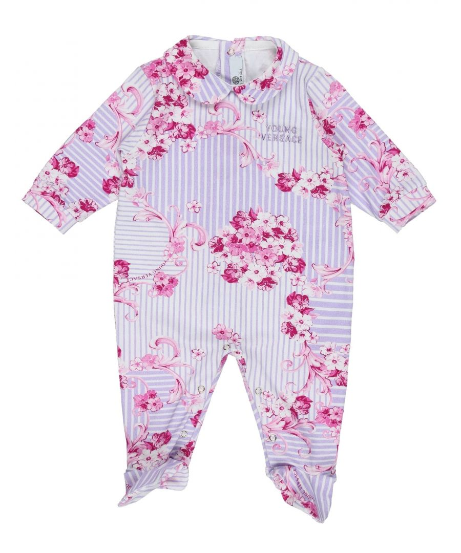 Image for BODYSUITS & SETS Versace Young Lilac Girl Cotton