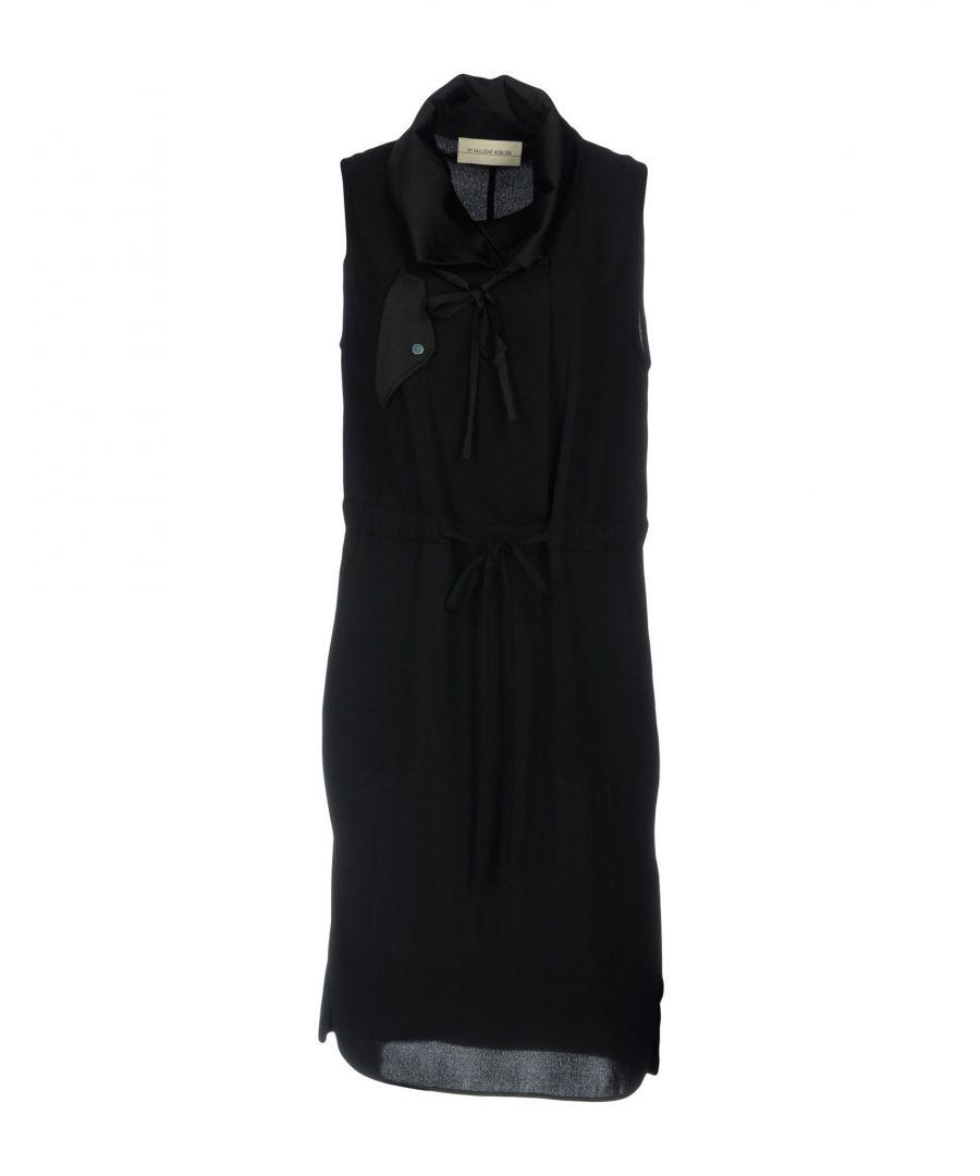 Image for By Malene Birger Black Crepe Sleeveless Dress