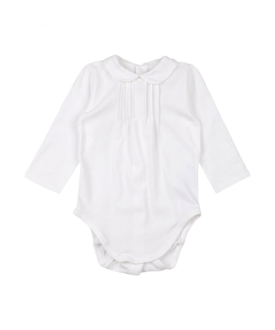 Image for Chloé White Girl Cotton Onesie