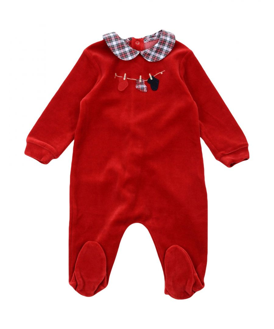 Image for BODYSUITS & SETS Girl Il Gufo Red Cotton