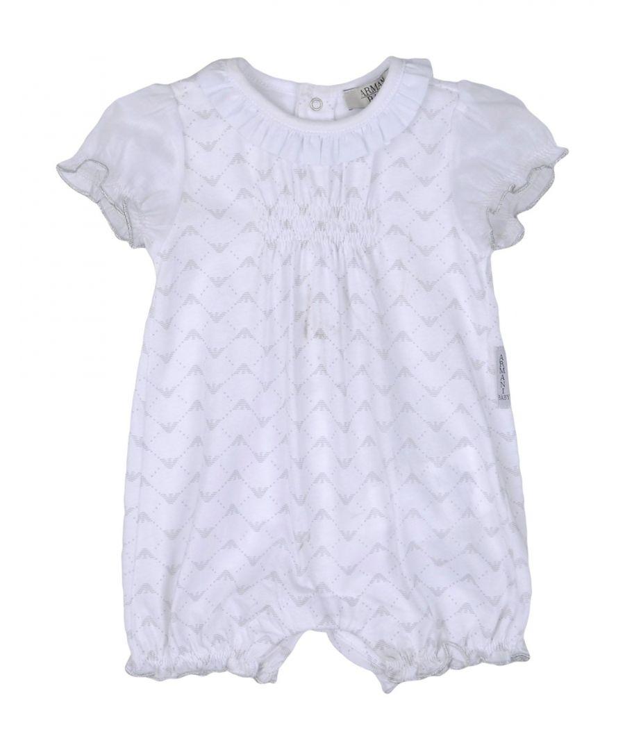 Image for BODYSUITS & SETS Armani Junior White Girl Cotton