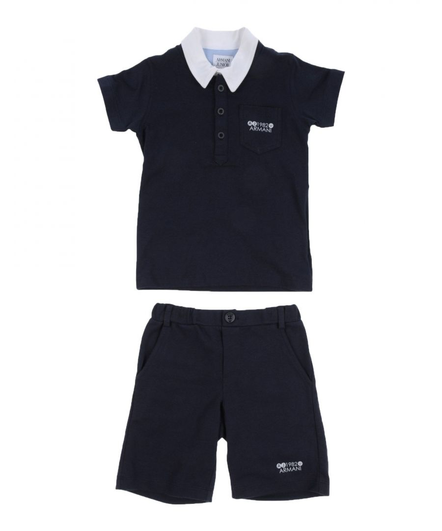 Image for BODYSUITS & SETS Armani Junior Dark blue Boy Cotton