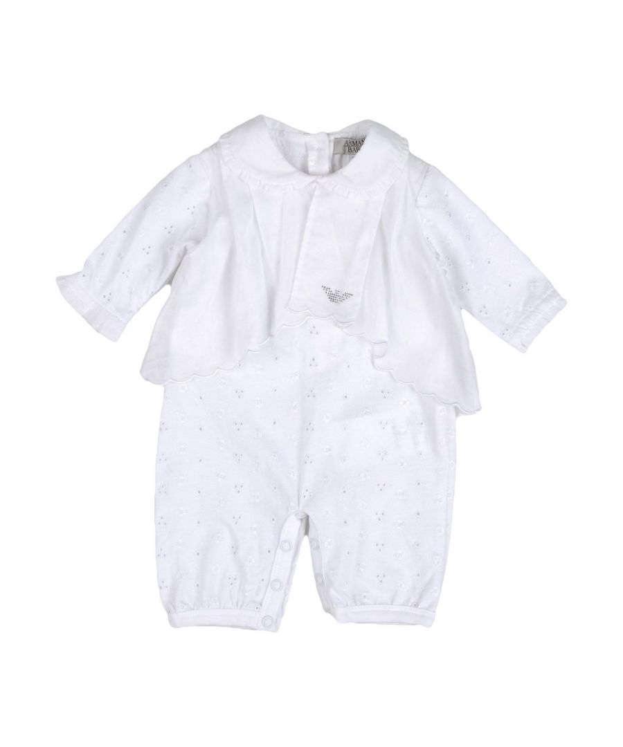 Image for BODYSUITS & SETS Armani Junior White Girl Cotton