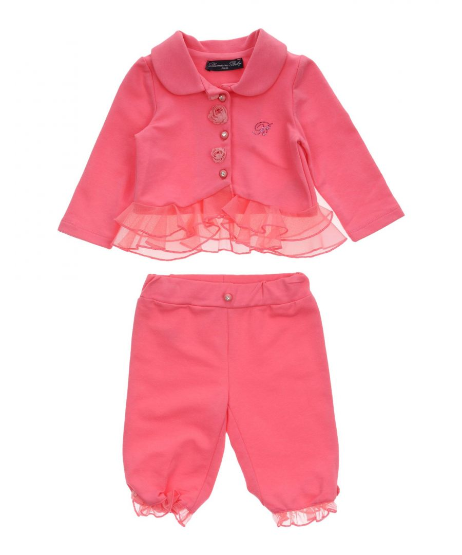 Image for BODYSUITS & SETS Miss Blumarine Fuchsia Girl Cotton