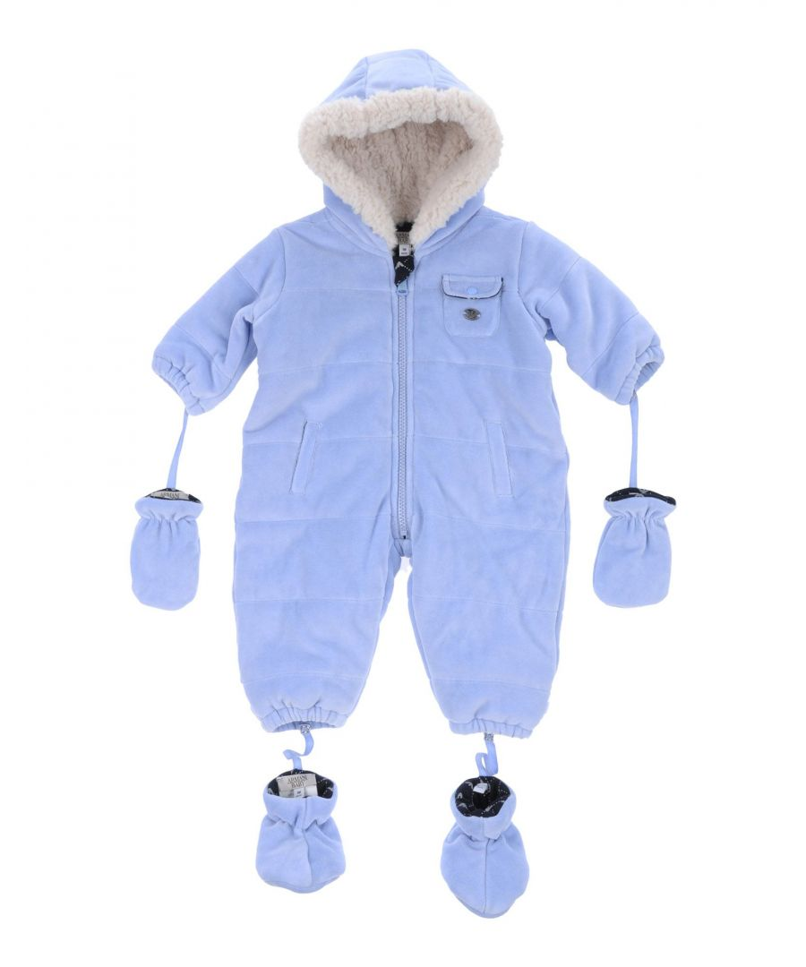 Image for COATS & JACKETS Armani Junior Sky blue Boy Cotton