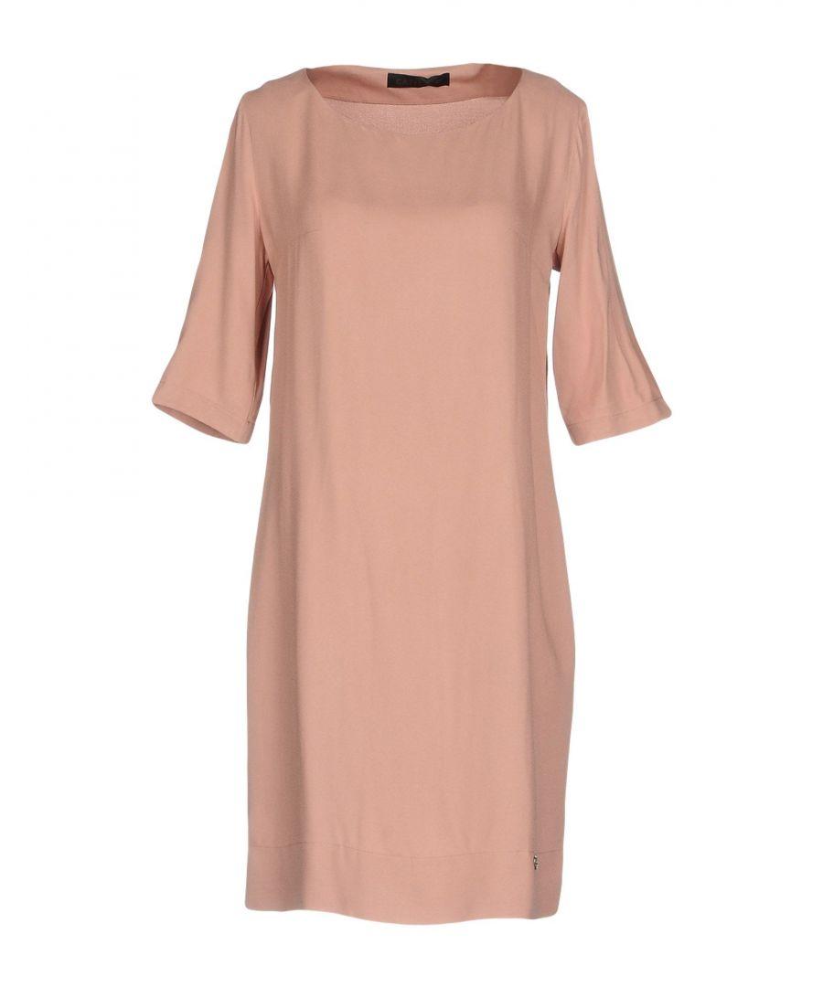 Image for Cafenoir Pastel Pink Short Sleeve Dress