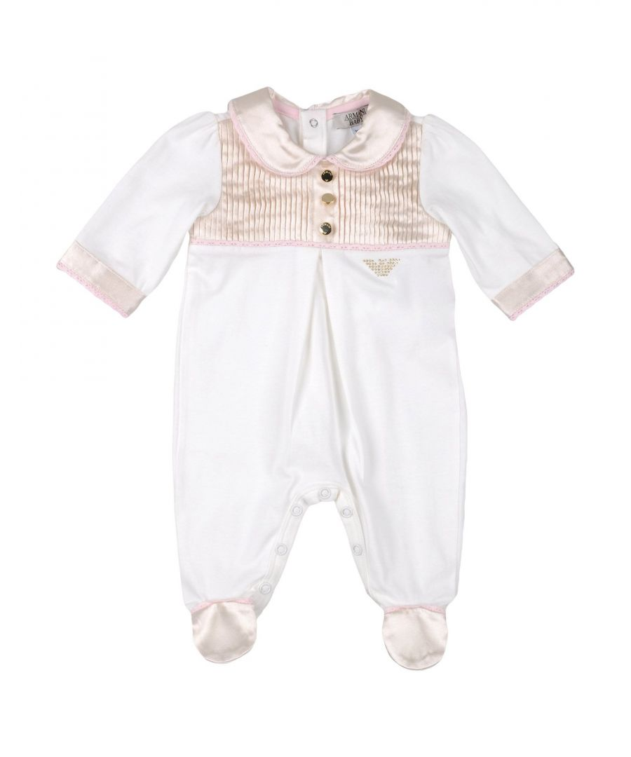 Image for BODYSUITS & SETS Armani Junior Ivory Girl Cotton