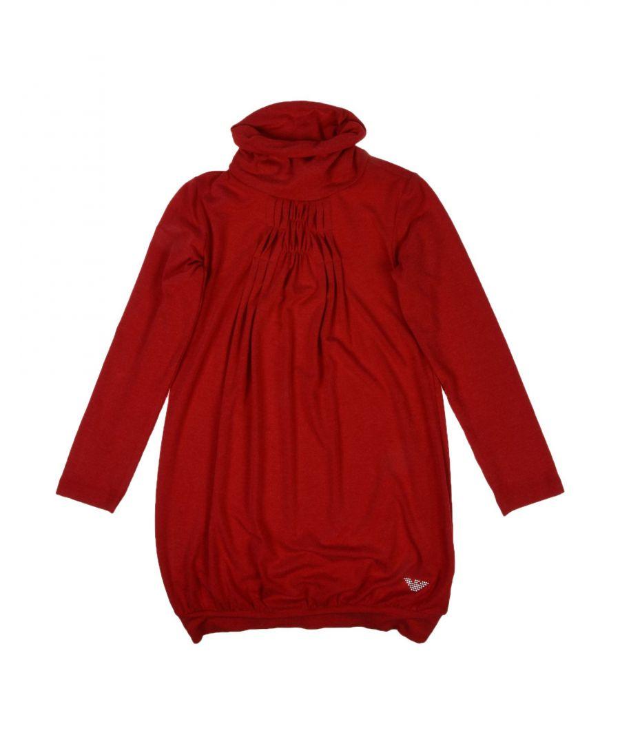 Image for DRESSES Armani Junior Red Girl Viscose