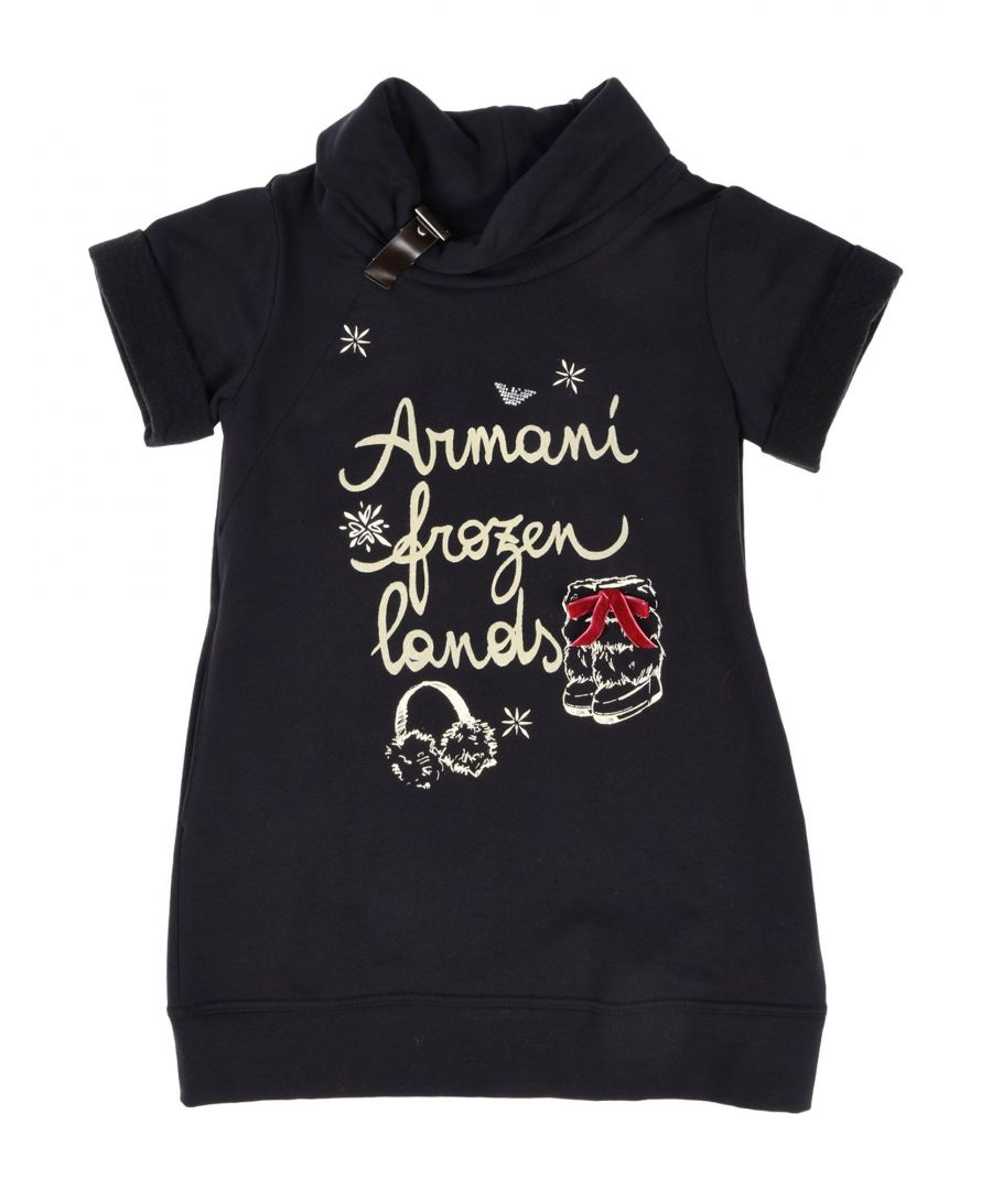 Image for DRESSES Armani Junior Dark blue Girl Cotton