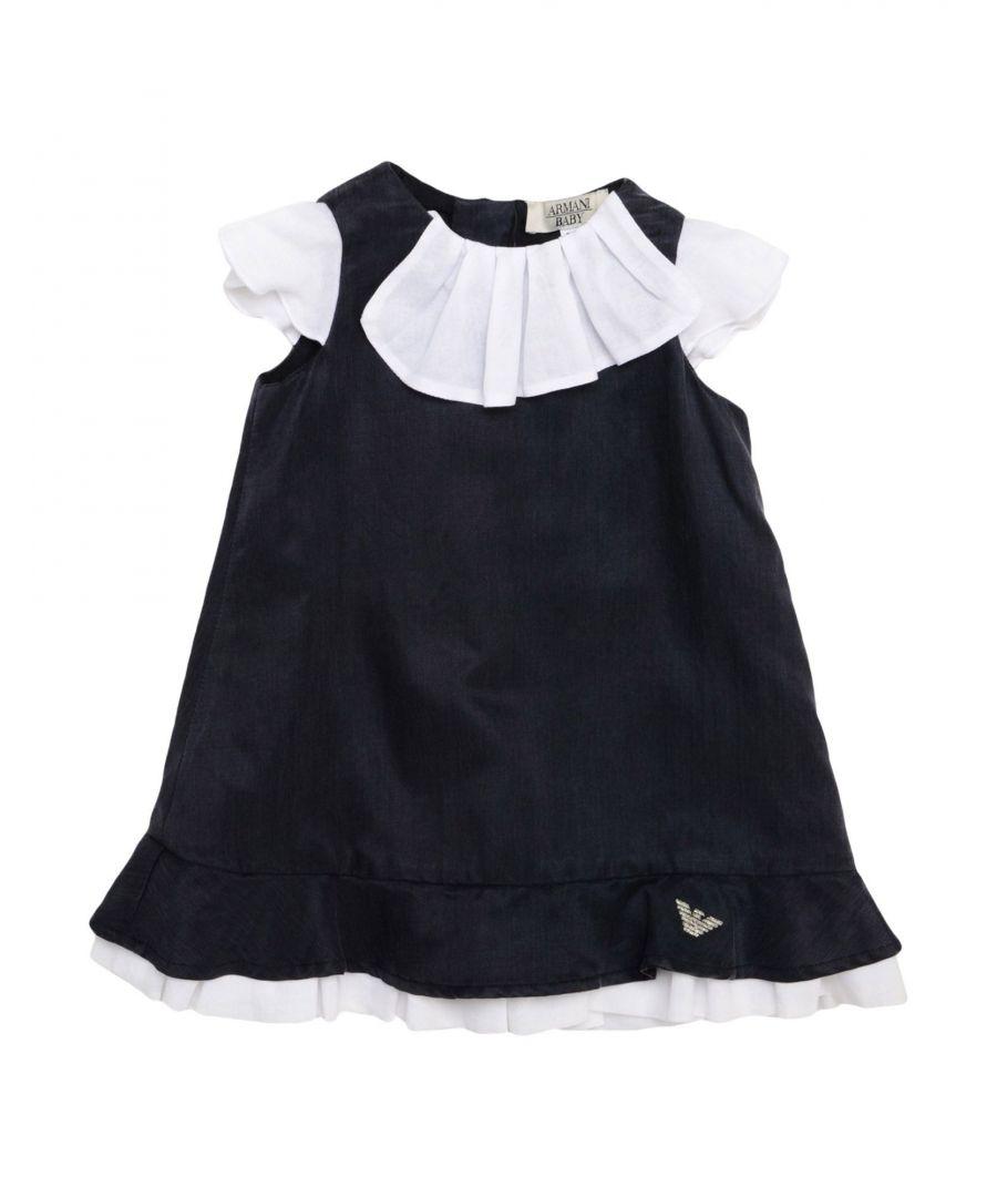Image for Armani Junior Dark blue Girl Cotton Dress