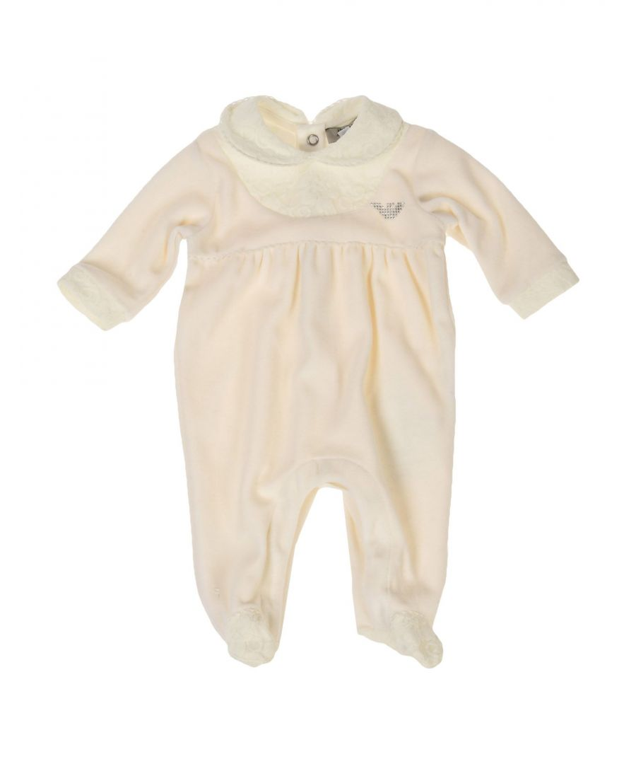 Image for BODYSUITS & SETS Armani Junior Ivory Girl Cotton