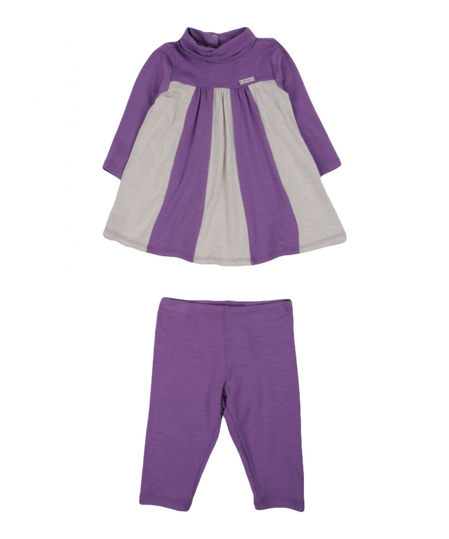 Image for BODYSUITS & SETS Armani Junior Purple Girl Viscose