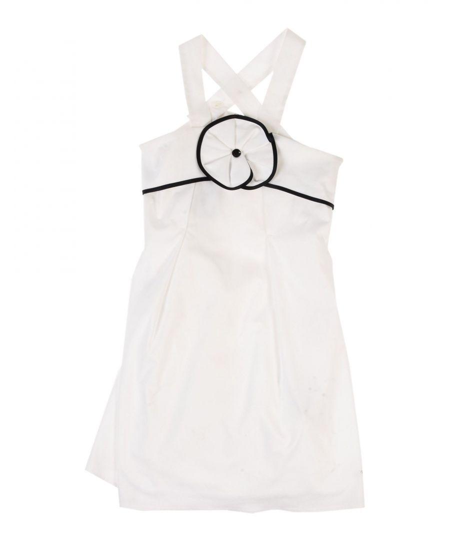 Image for DRESSES Armani Junior White Girl Cotton