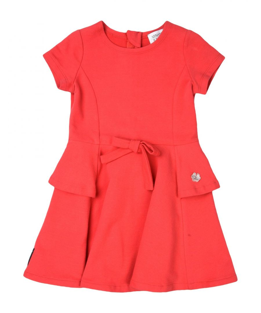 Image for BODYSUITS & SETS Armani Junior Red Girl Cotton