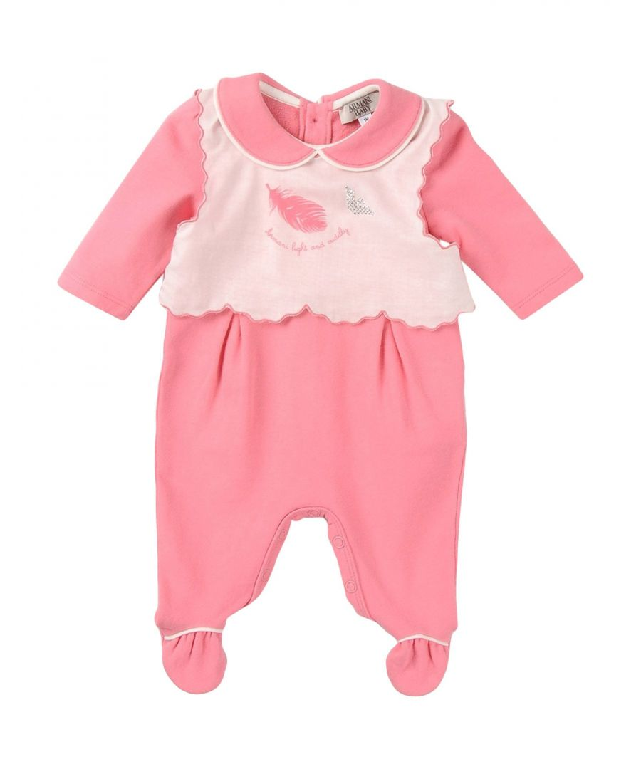 Image for BODYSUITS & SETS Armani Junior Pink Girl Cotton