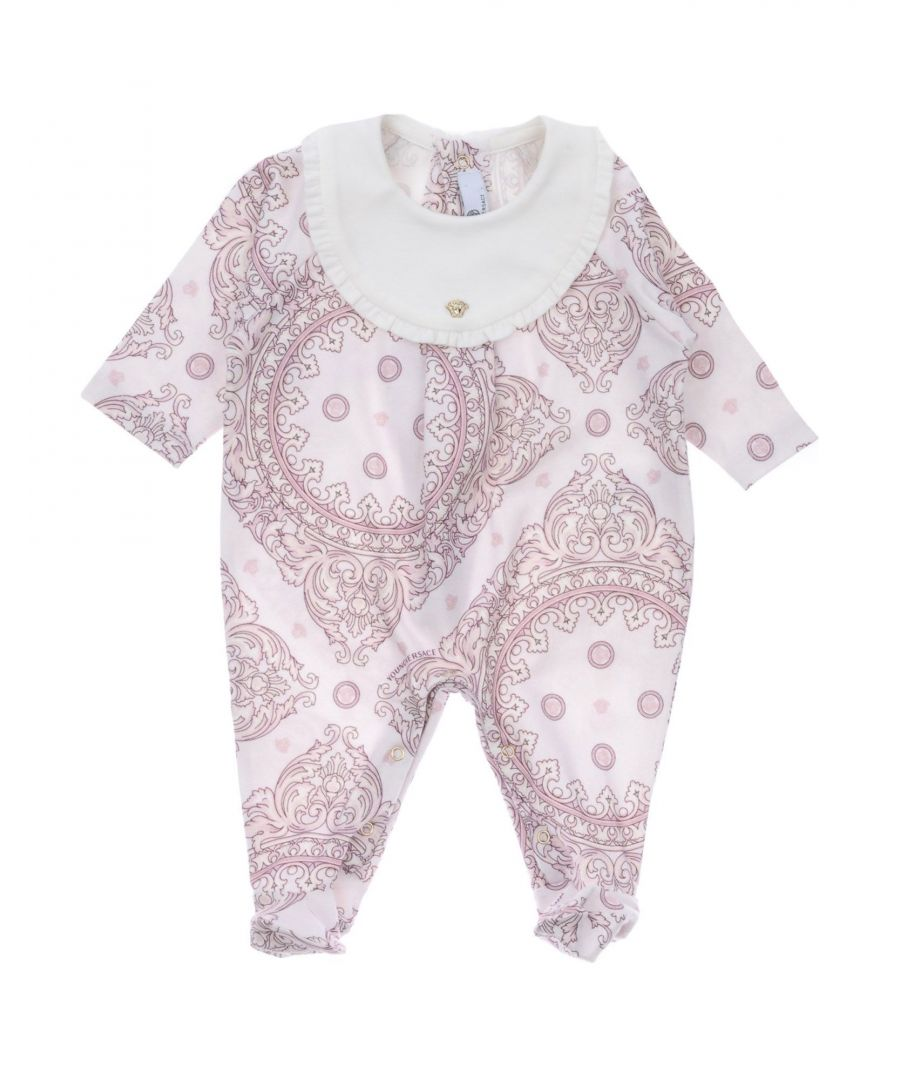 Image for BODYSUITS & SETS Versace Young Light pink Girl Cotton