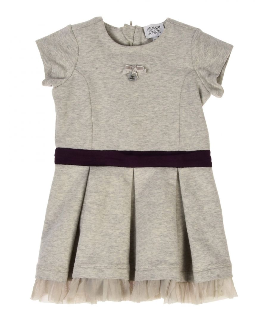 Image for BODYSUITS & SETS Armani Junior Light grey Girl Cotton