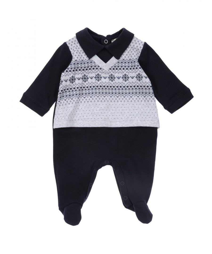 Image for BODYSUITS & SETS Armani Junior Dark blue Boy Cotton