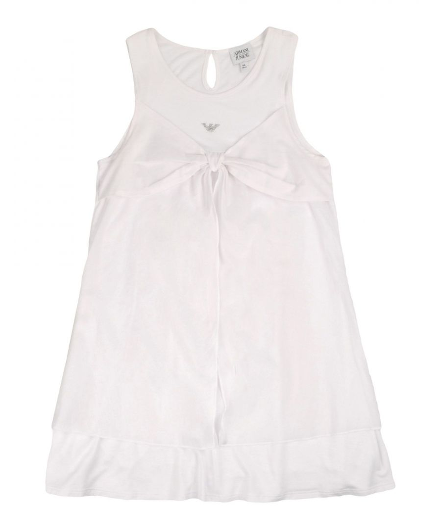 Image for DRESSES Armani Junior White Girl Viscose