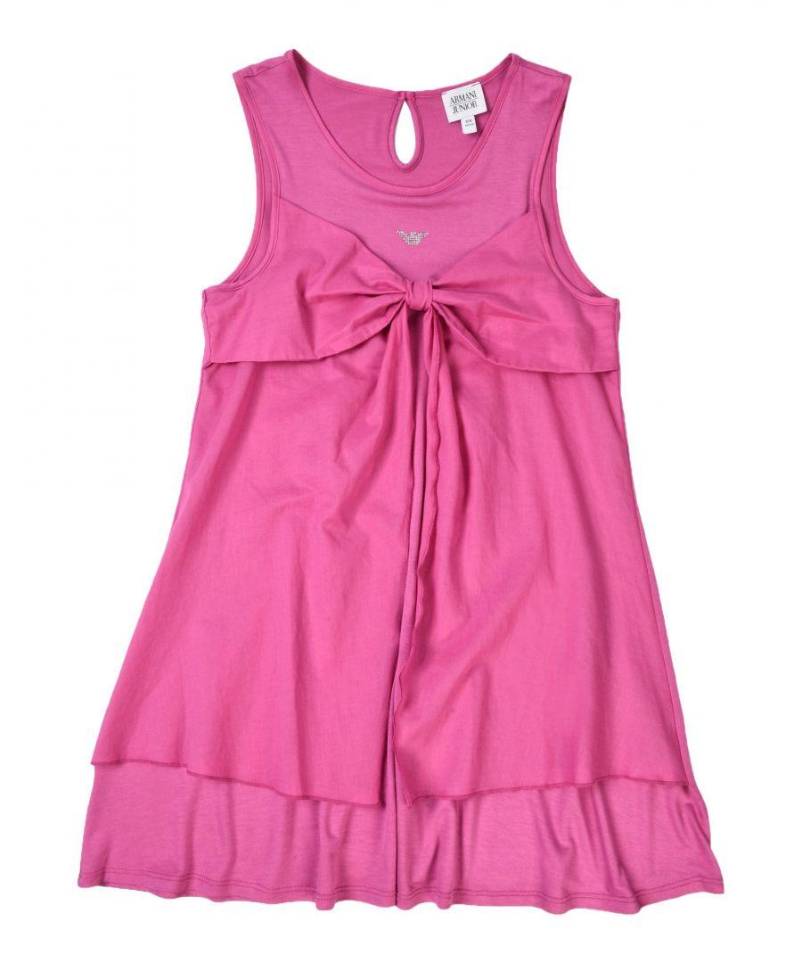 Image for DRESSES Armani Junior Light purple Girl Viscose
