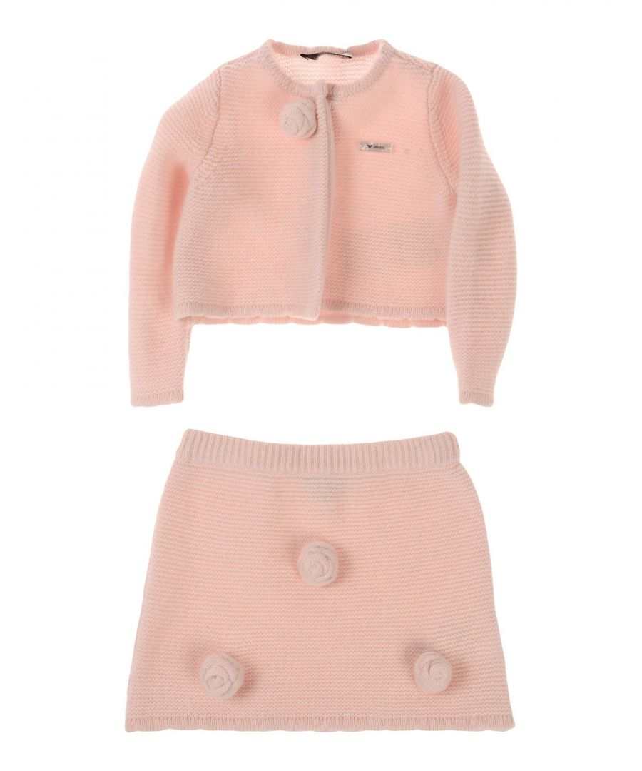 Image for BODYSUITS & SETS Armani Junior Pink Girl Cashmere