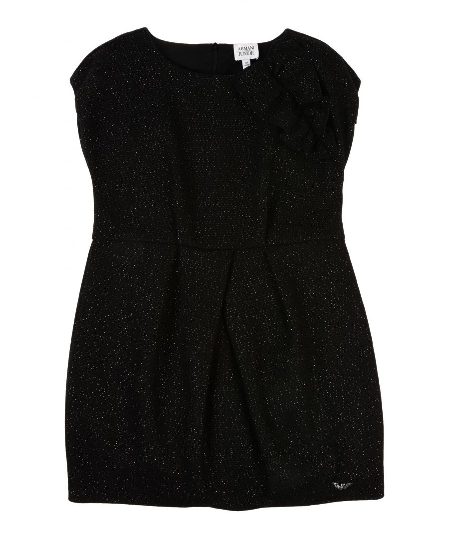 Image for DRESSES Armani Junior Black Girl Wool