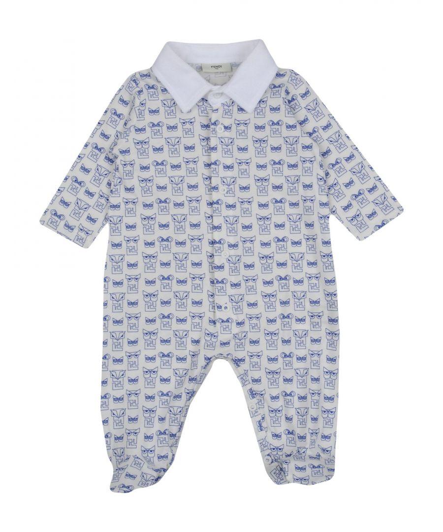 Image for BODYSUITS & SETS Fendi White Boy Cotton