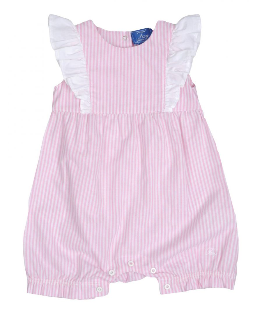 Image for Fay Pink Girl Cottons Onesie