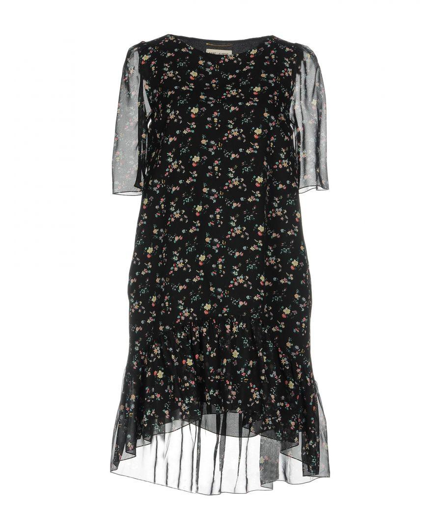 Image for DRESSES Woman Saint Laurent Black Silk