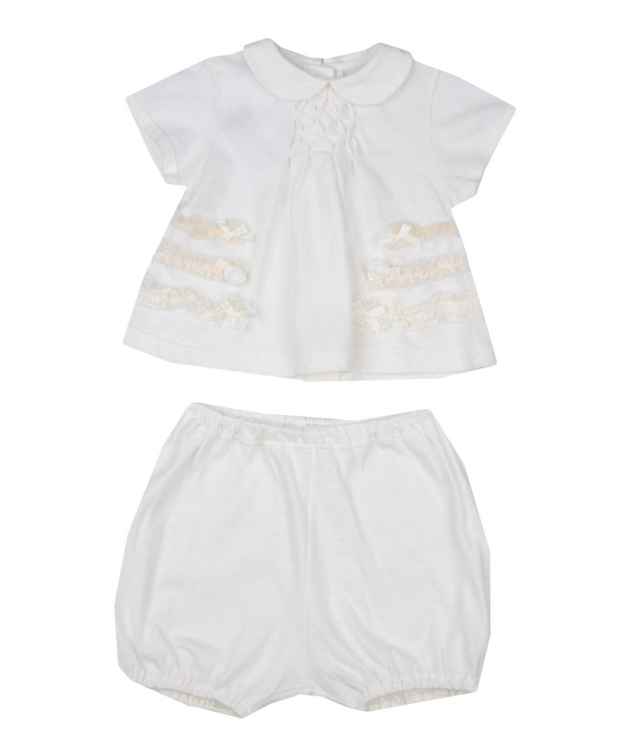 Image for BODYSUITS & SETS Baby Graziella Ivory Girl Cotton