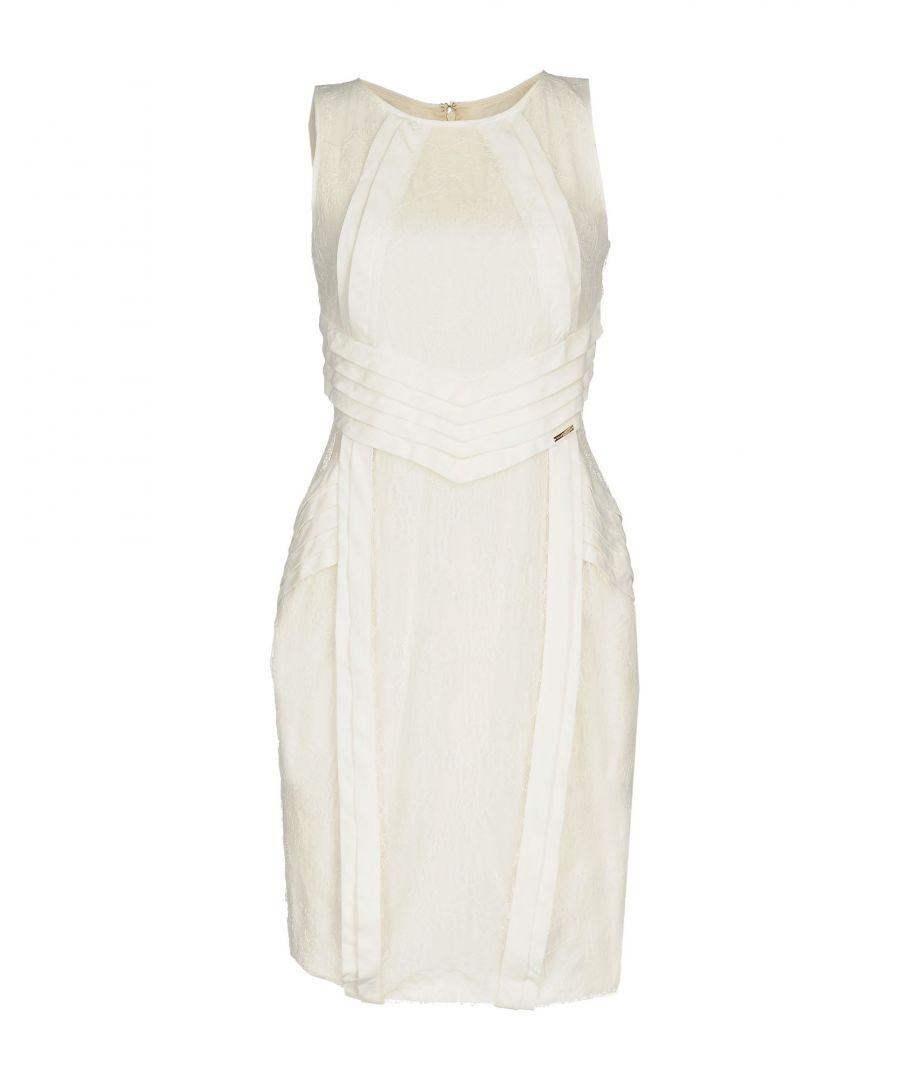 Image for Elisabetta Franchi White Lace Dress