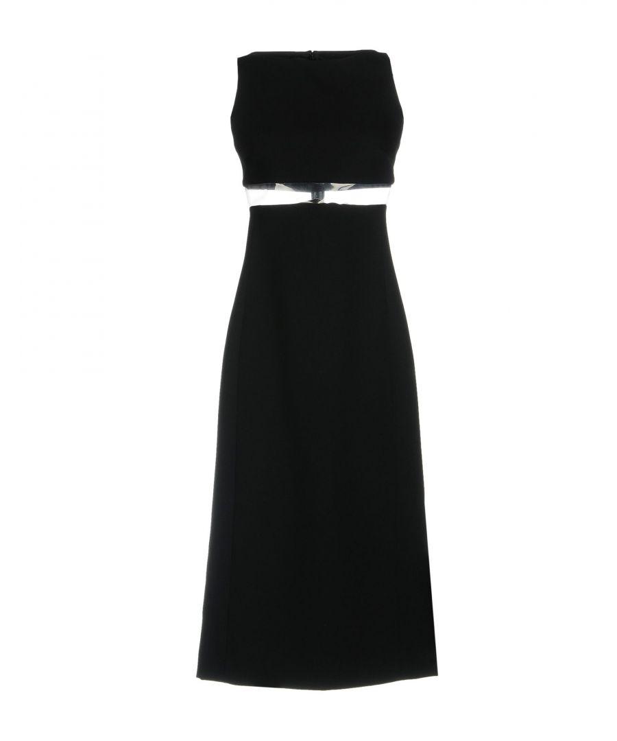 Image for Paco Rabanne Black Polyester Vestiti al ginocchio