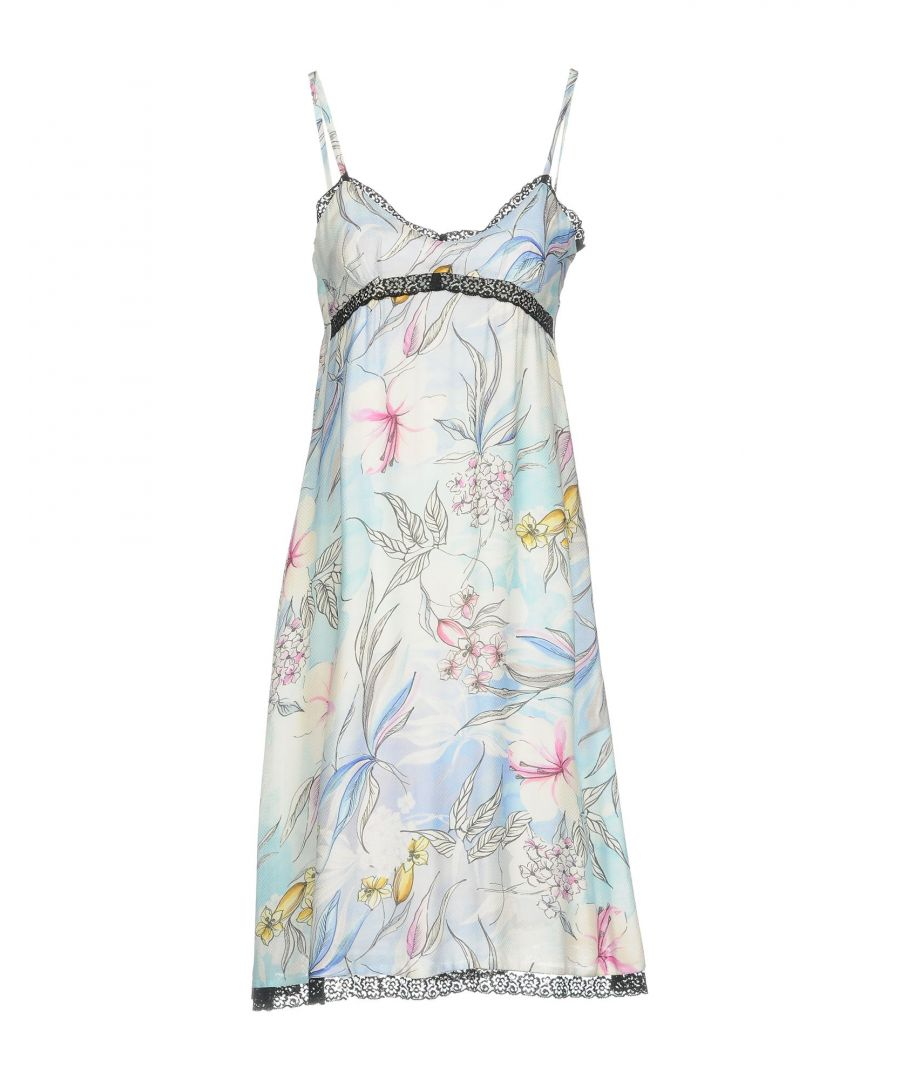 Image for Anna Rachele Jeans Collection White Print Camisole Dress