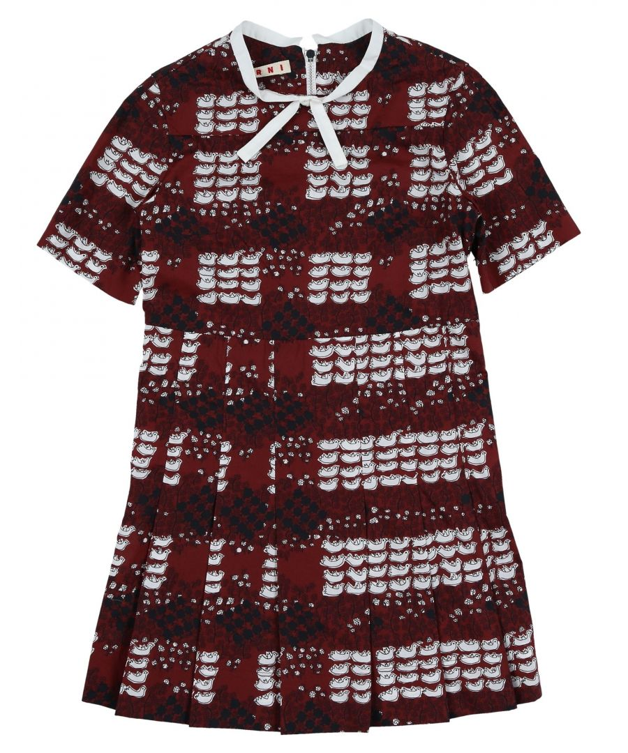 Image for BODYSUITS & SETS Marni Maroon Girl Cotton
