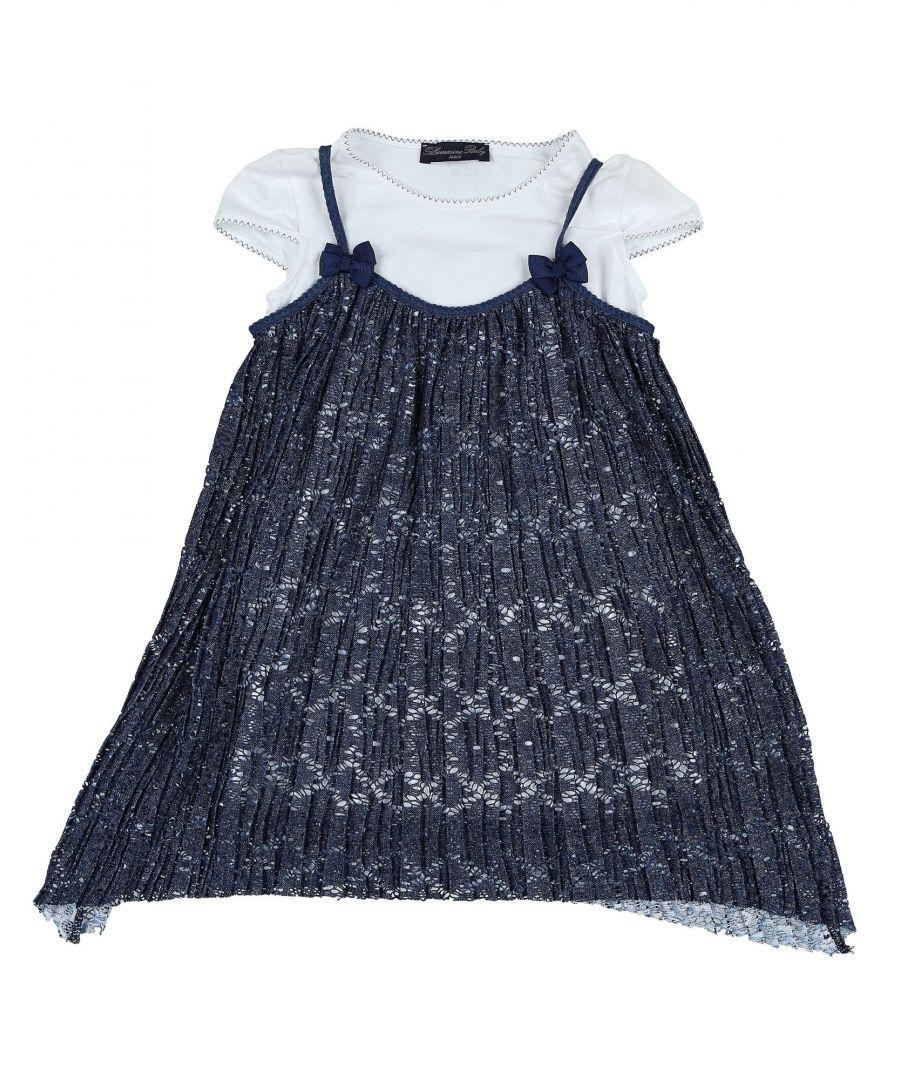 Image for BODYSUITS & SETS Miss Blumarine Dark blue Girl Polyester