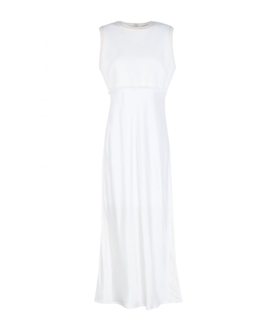 Image for DKNY Ivory Cotton Trapeze Style Dress