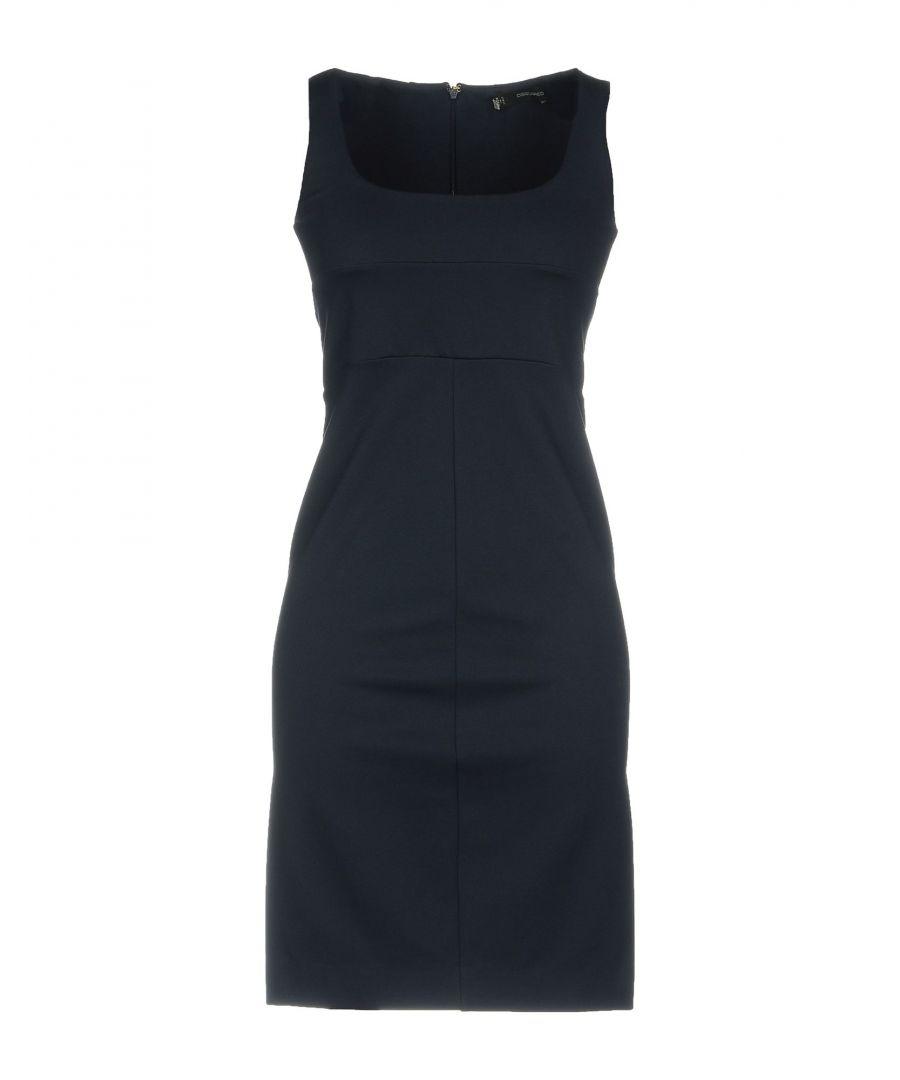 Image for Dsquared2 Dark Blue Jersey Sleeveless Dress