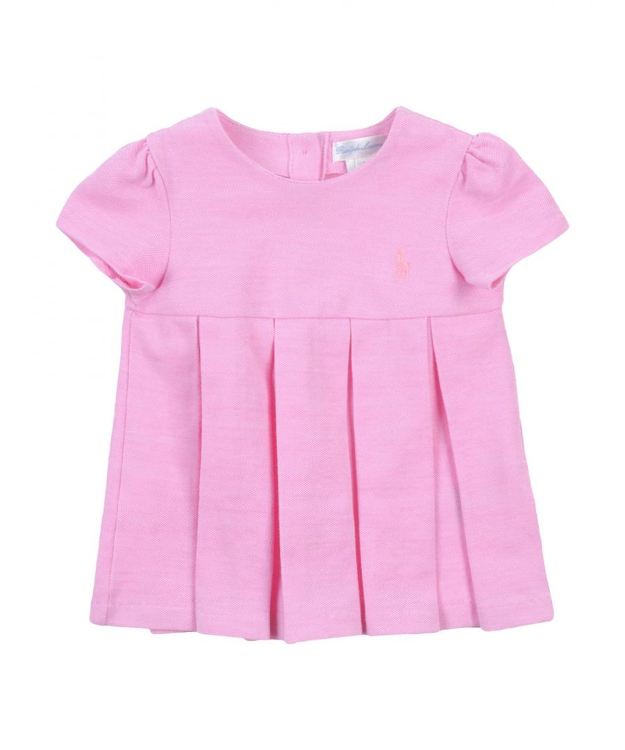 Image for BODYSUITS & SETS Girl Ralph Lauren Pink Cotton