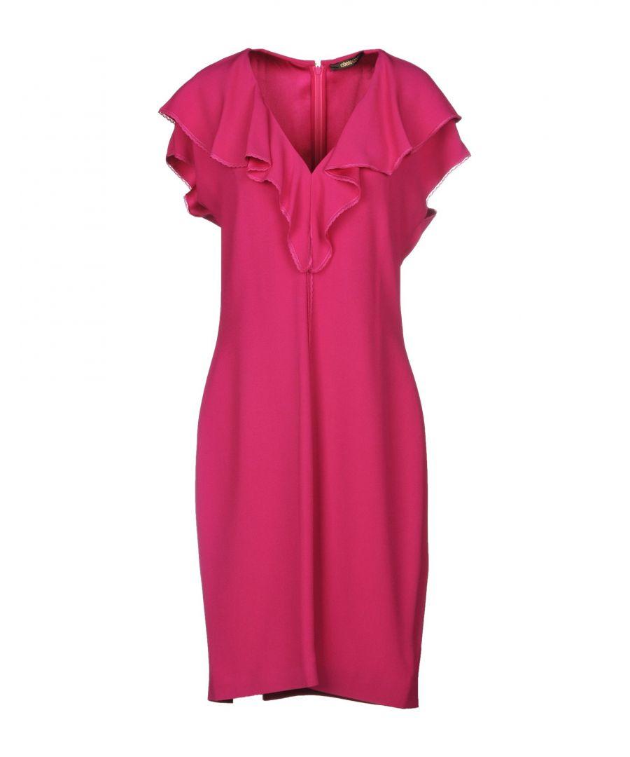 Image for Roberto Cavalli Fuchsia Dress