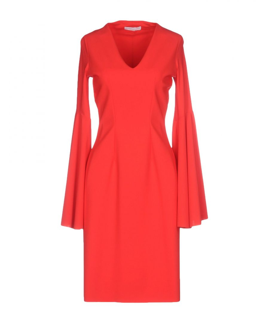 Image for Christies A Porter Red Long Sleeve Jersey Dress