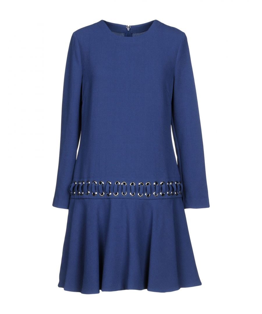 Image for Pinko Blue Long Sleeve Dress